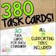 Grade 7 Math STAAR Supporting TEKS Test Prep Task Card BUNDLE!