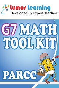 Grade 7 Math Tool Kit for Educators, PARCC Edition