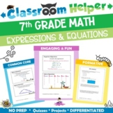 Grade 7 Math - Expressions and Equations
