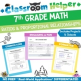 Grade 7 Math - Ratios and Proportional Relationships
