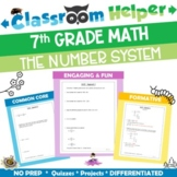 7th Grade Math The Number System