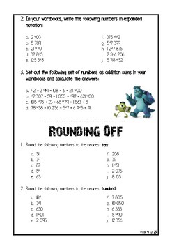 Grade 7 Mathematics Workbook 1