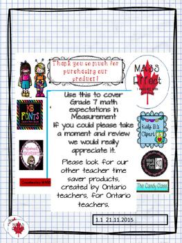Grade 7 Metric Conversion Quiz