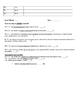 Grade 7 NC EOG Released Test Student Worksheet