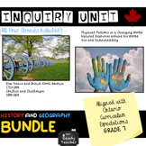 Grade 7 Ontario History and Geography Bundle