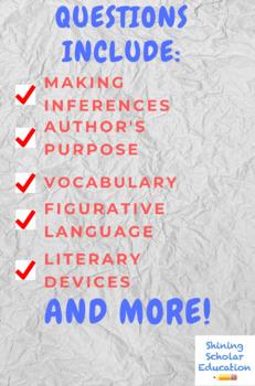 Grade 7 Prentice Hall Lit. Unit 1 Fiction & Nonfiction Reading 15-Test Bundle