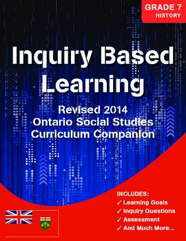 Grade 7 REVISED Ontario History Curriculum Companion