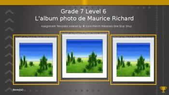 """Grade 7 (SK Level 6) My Photo Album Unit Movie """"The Rocket"""" Mini-Project"""