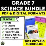 Grade 7 Science Bundle | Distance Learning