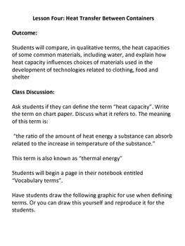 Grade 7 Science - Heat and Temperature