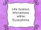 Grade 7 Science I Can Statement Posters - Saskatchewan