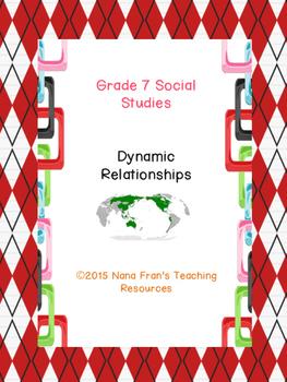 Grade 7 Social Studies Dynamic Relationships