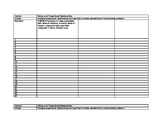 Grade 7 Standards Mastery Record Sheet - Teacher Copy