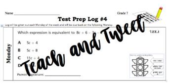 Grade 7 Test Prep Log #4