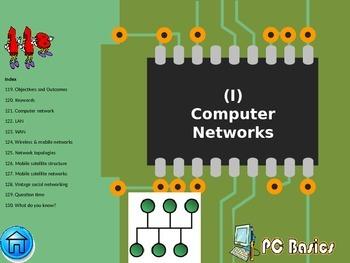 FREE-Grade 7 Year 7 ICT Computer Basics Networks i ICT Tutorial.