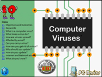 Grade 7 Year 7 ICT Computer Basics Viruses C ICT Tutorial Narrated