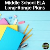 Grade 7 and 8 ELA Scope and Sequence Pacing Guide