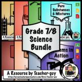 Grade 7 and 8 Ontario Science Bundle