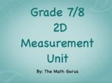 Grade 8 2D Measurement Unit