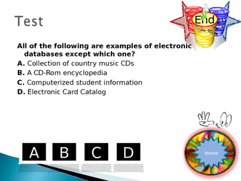 Grade 8, 9 Year 8, 9 ICT Database Dual Interactive Quiz with Answers
