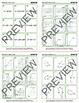 Geometric Models & Expressions: Grade 8 MATH CARD GAMES GALORE BUNDLE