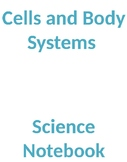 Grade 8 Science - Cells and Body Systems