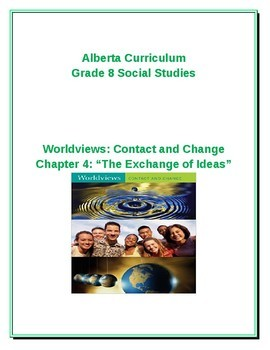 Grade 8 Chapter Four: The Exchange of Ideas Bundled Package