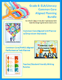 Grade 8: Common Core Curriculum Planning Bundle