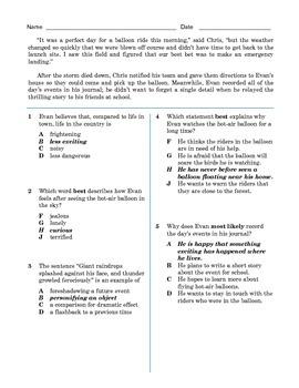 Grade 8 Common Core Listening Practice -- Emergency Landing