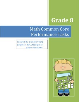 Grade 8 Common Core Math Journal Performance Tasks