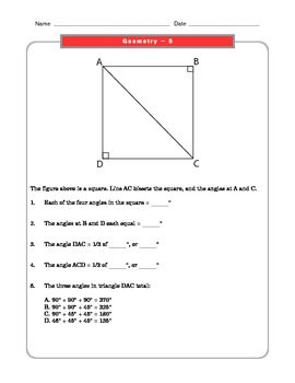 Grade 8 Common Core Math Wo... by The Worksheet Guy | Teachers Pay ...