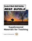 Grade 8 Common Core Math Skill Builder BUNDLE!