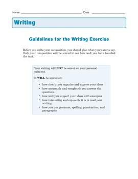 Grade 8 Common Core Writing Prompt - Argumentative Essay: Locker Searches