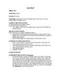 Grade 8 Cross-Curricular Music/Math Unit Plan