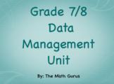 Grade 8 Data Management Unit