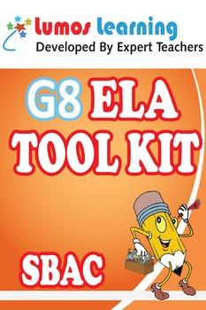 Grade 8 English Language Arts (ELA) Tool Kit for Educators, SBAC Edition