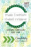 Grade 8 English Syllabus (Parent/Student) - Ontario Curriculum