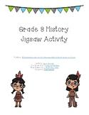 Grade 8 First Peoples Jigsaw