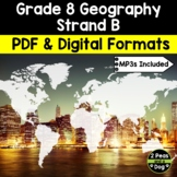 Grade 8 Geography Global Inequalities: Economic Development and Quality of Life