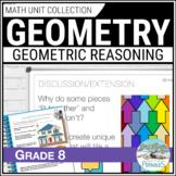 Geometry Unit (2D/3D Shapes) - Grade 8 Math Unit