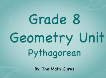 Grade 8 Geometry (Pythagorean) Unit