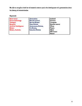 Grade 8 Grade 9 Year 8 Year 9 Future Technologies Workbook