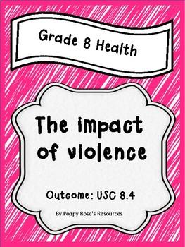 Grade 8 Health Unit 4 The Impact of Violence