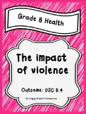 Grade 8 Health Unit 4 The Impact of Violence
