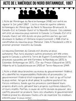 Grade 8 History Units 1850 - 1914 French Edition