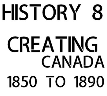 Historical Thinking - Grade 8 - NEW Ontario Curriculum - Strand A