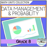 Data Management and Probability: All Units Bundle (Graphing) - Grade 8