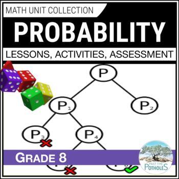 Probability Unit - Data Management - Grade 8 Math Unit