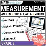 Measurement Unit (Surface Area and Volume) - Grade 8 Math Unit