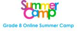 Grade 8 Math Online Summer Camp